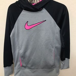 NIKE PULLOVER HOODED! GIRLS SIZE XL! NICE!!